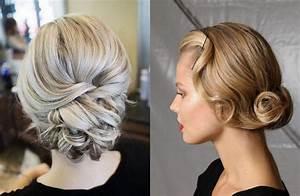 Chignon Cheveux Mi Long : coiffure cheveux mi long pour un look vertigineux ~ Melissatoandfro.com Idées de Décoration