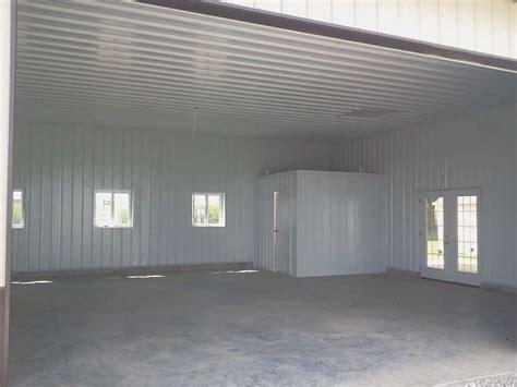 pole barn finished  metal liner kit loudon