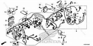 Honda Atv 2019 Oem Parts Diagram For Wire Harness