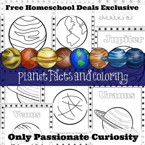 free planet facts and coloring pages instant 270 | b24eb409254fb8fb724820989cc296ab planets preschool free planet