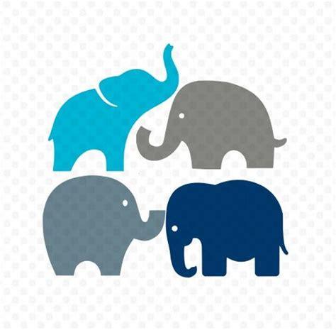 Elephants Svg Elephant Svg Elephants Silhouette Svg Svg