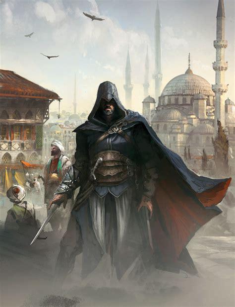 Ezio Auditore Da Firenzegallery Assassins Creed Art