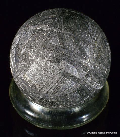 muonionalusta meteorite etched sphere widmanst 228 tten 12 6mm