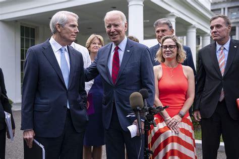 Biden Announces an Agreement between Democrats and ...
