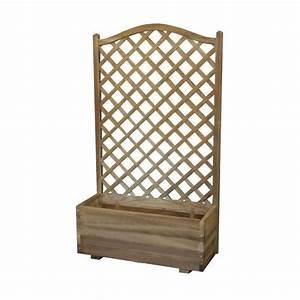 Jardinière Avec Treillage : object moved ~ Melissatoandfro.com Idées de Décoration