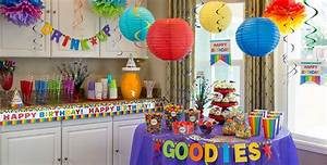 Rainbow Birthday Party Supplies - Party City