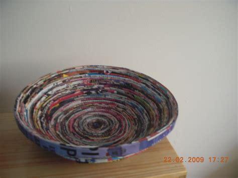 magazine bowls     magazine bowl papercraft