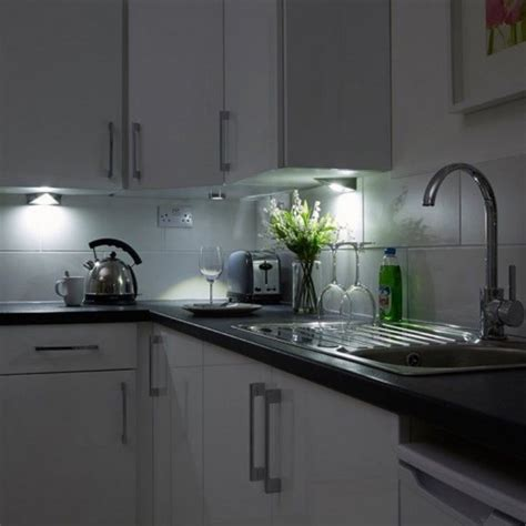 led kitchen lighting cabinet kitchen cabinet triangle led light in cool white 6000k 8943