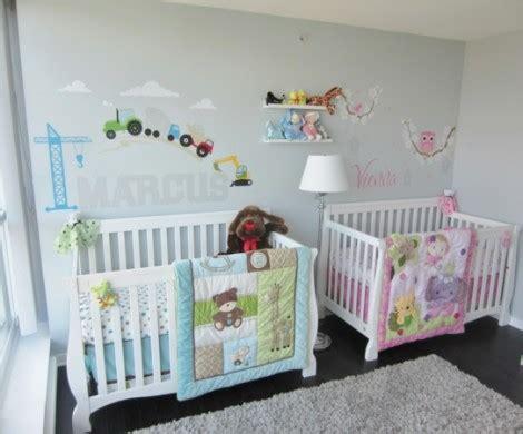 Kinderzimmer Mädchen Zwillinge by Babyzimmer M 228 Dchen Und Junge Einige Kombinierte