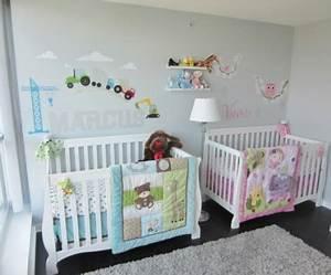 Kinderzimmer Für Zwillinge : babyzimmer m dchen und junge einige kombinierte einrichtungsideen ~ Markanthonyermac.com Haus und Dekorationen