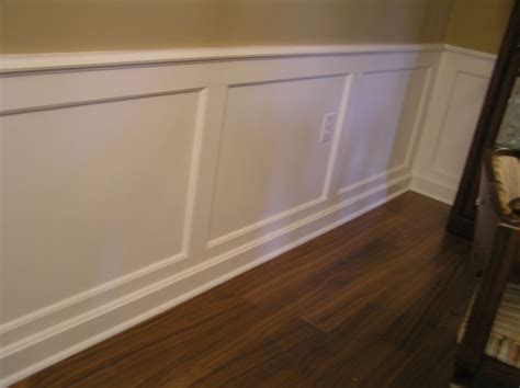 Wainscoting Molding by Wainscoting And Crown Molding Question Woodworking Talk
