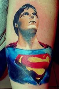 Brainsy Heart: Amazing Superman Tattoo