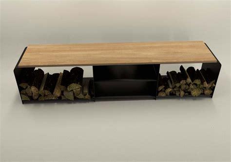 Einfamilienhaus Sideboard Fuer Kaminholz by Design Metallmoebel Tv Sideboard Mehrzweck Kaminholz