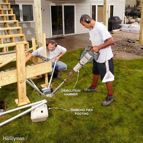 25 best ideas about deck footings on pinterest concrete