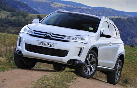 citroen  aircross french brands  suv