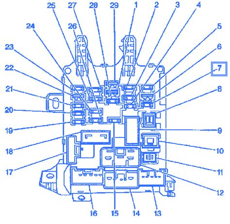 chevy prizm  engine electrical circuit wiring diagram