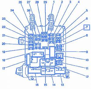Chevy Prizm 1998 Engine Electrical Circuit Wiring Diagram