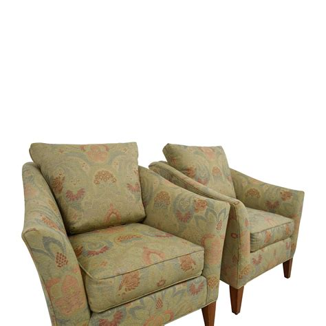 ethan allen recliners 90 ethan allen ethan allen gibson floral chairs
