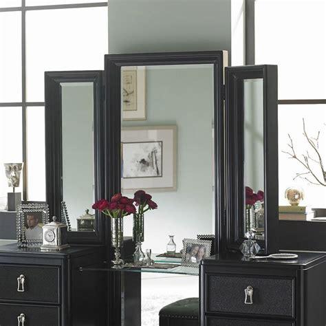 diva midnight vanity tri view mirror  samuel lawrence