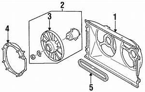 1991 Volkswagen Passat Wagon Engine Cooling Fan Blade