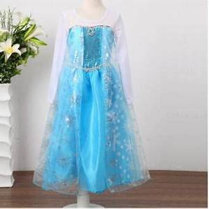 robe princesse elsa deguisement reine des neiges achat With robe princesse des neiges
