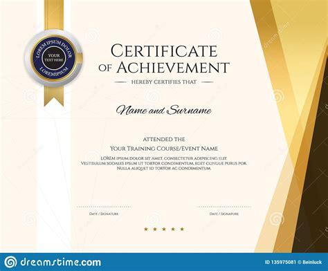 modern certificate template  elegant border frame