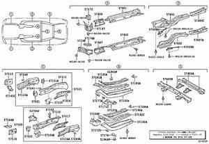Lexus Rx 400h Floor Side Rail Reinforcement  Left