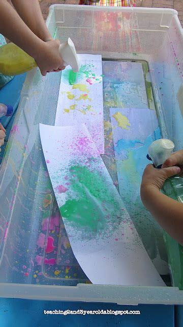 easy chalk spray paint recipe crafts   year olds
