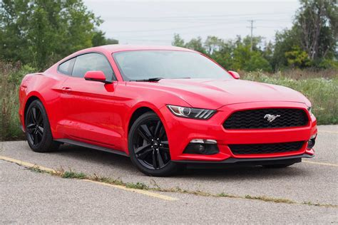 Ecoboost Mustang Specs 2016 Ford Mustang Ecoboost First Test Review Autos Post