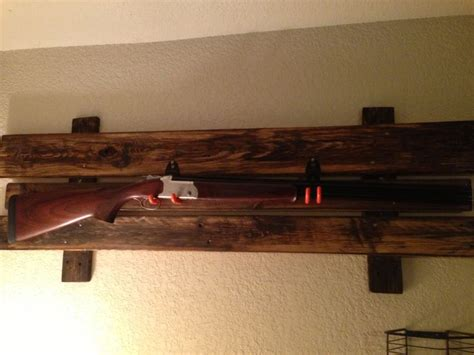 wall gun rack plans woodworking projects plans