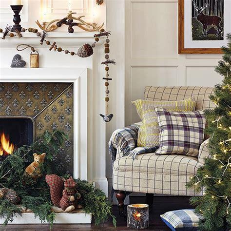 fireplace decor ideas for christmas christmas