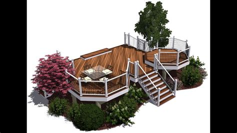 deck design  started tutorial youtube