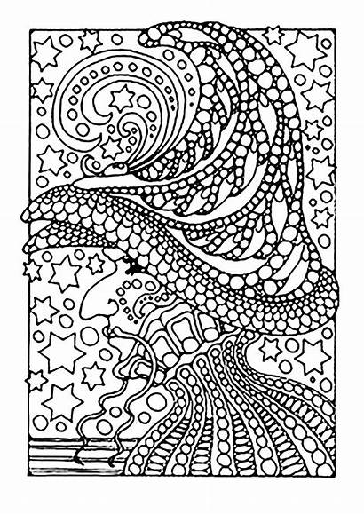Coloring Witch Pages Adults Printable