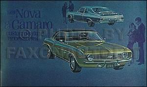 1967 1969 Camaro Rs Gauge Headlight Wiring Diagram Reprint