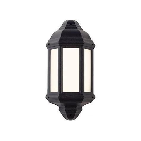 endon lighting enluce single light flush outdoor wall