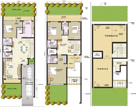 row home plans modern row house plans google search row house plan floor plans for row houses in india modern