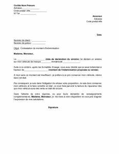 Document Cession Vehicule : exemple gratuit de lettre refus cession assurance un v hicule jug conomiquement irr parable ~ Gottalentnigeria.com Avis de Voitures