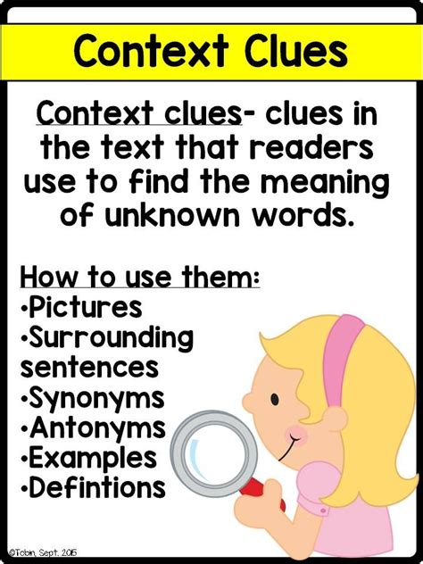 17 Best Images About Unknown Words On Pinterest  Context Clues, Grade 2 And Texts