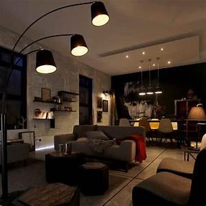 Eclairage Salon Sejour : bien clairer sa maison leroy merlin ~ Melissatoandfro.com Idées de Décoration