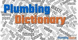 Plumbing Dictionary