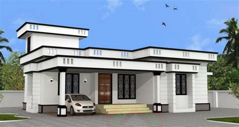 Home Design 900 : 2 Bhk Low Budget Home Design At 900 Sq Ft