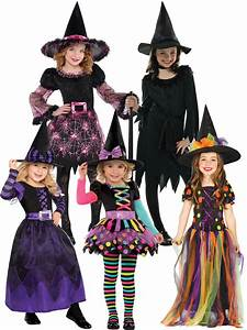 Girls Halloween Witch Costume Toddler Fancy Dress Outfit ...