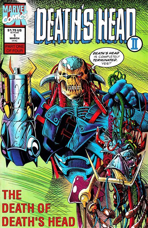 STARLOGGED - GEEK MEDIA AGAIN: 1992: DEATH'S HEAD II ...
