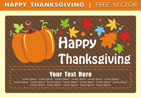 Happy Thanksgiving Images Free Happy Thanksgiving Card Free Vector Free Vector