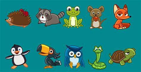 cartoon animals animation pack   sadfishing videohive