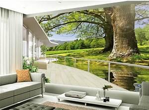 Aliexpress.com : Buy TV backdrop of nature landscape ...