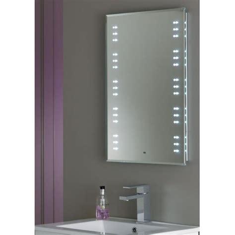led light mirror bathroom endon el kastos modern mirror led switched bathroom 19185
