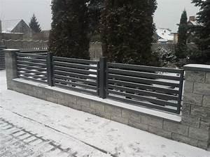 Zaun Aus Beton : untermauerung betonzaun gartenmauer mit stahlelementen ~ A.2002-acura-tl-radio.info Haus und Dekorationen