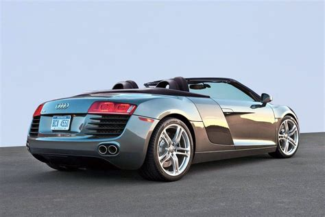 2015 Audi R8 Spyder V10 Convertible Review
