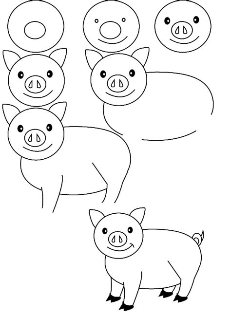 Best Pig Drawing Ideas And Images On Bing Find What You Ll Love